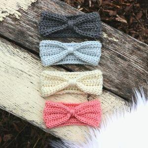 Handmade Baby Crochet Headband Warmer Headwrap